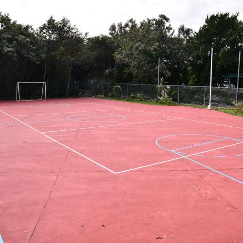 Cancha de Futbol Colegio Lowry School Cancún